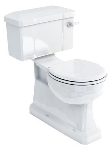 WC - Burlington skjult S-lås, smal sisterne