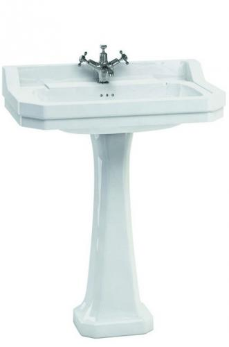 Wash basin Burlington - Edwardian 80 cm, pedestal