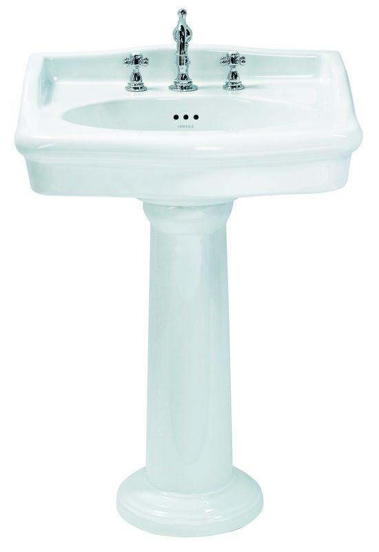New Victoria Wash Basin 65 cm with 3 tapholes - old style - classic interior - retro - vintage style