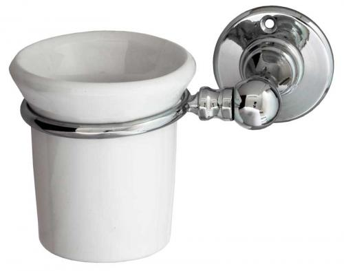 Toothbrush holder Sekelskifte - Chrome