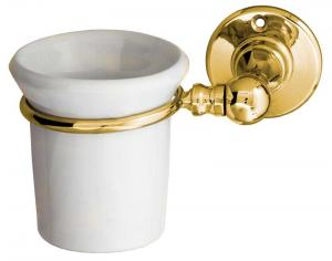 Toothbrush holder Sekelskifte - Brass