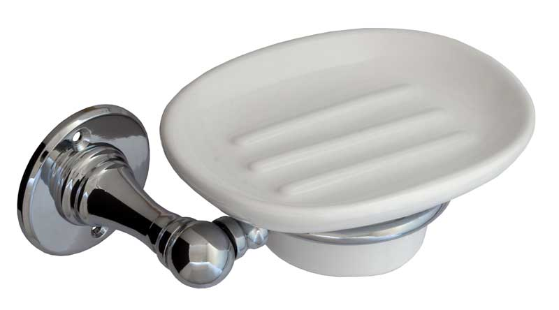 Soap dish Sekelskifte - Chrome