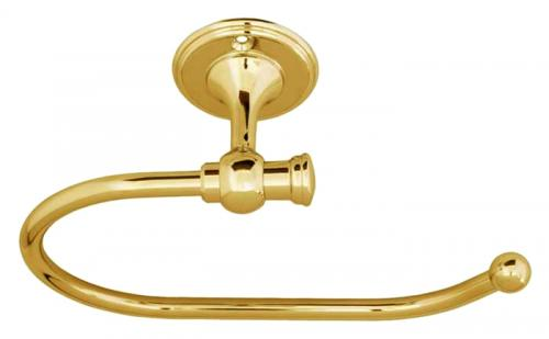 Toilet paper holder Brighton - Brass