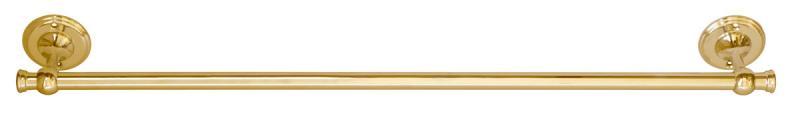 Klassisk handduksstång Brighton - Mässing 70 cm - sekelskifte - gammaldags stil - klassisk inredning - retro
