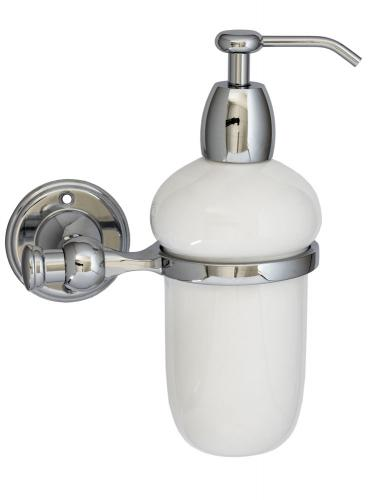 Old style soap dispenser Brighton - Chrome - old style - classic interior - vintage style - old fashioned