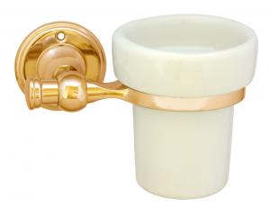 Toothbrush holder Brighton - Brass