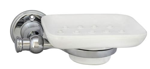Old style soap dish Brighton - Chrome - old style - classic interior - vintage style - old fashioned