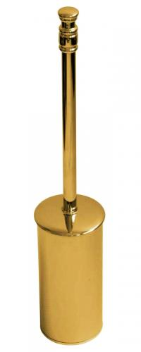 Floorstanding toilet brush II Brighton - Brass