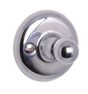 Clothes hook Haga - Single - Chrome