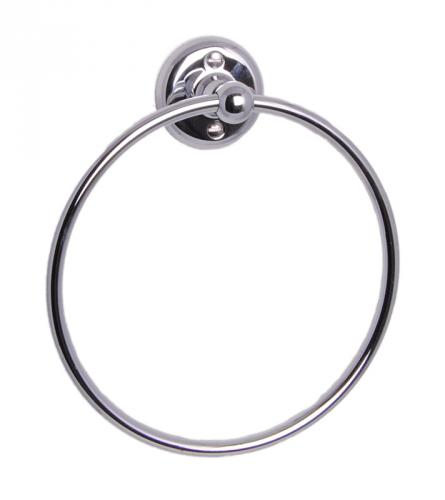 Towel holder Haga - Towel ring chrome - old style - oldschool - vintage