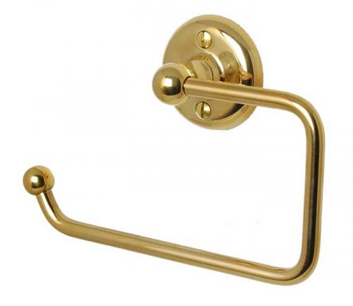 Toilet paper holder Haga - Brass