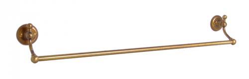 Handduksstång Enkel - Haga - Brons - sekelskiftesstil - gammal stil - gammaldags inredning