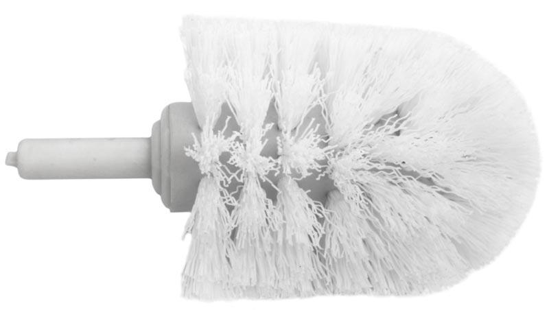 Toilet Brush Head : Replacement brush head to haga toilet brush