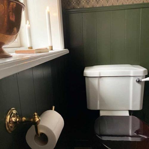 Toalettpappershållare - Mässing