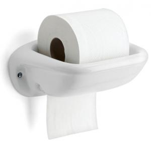 Toilet roll holder - Porcelain