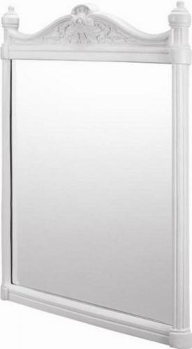 Bathroom Mirror - Georgian aluminium white