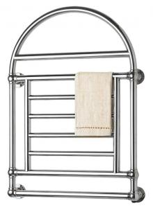 Towel Radiator - Crosby chrome,  electrical connection