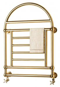 Towel Radiator - Crosby brass,  water heating