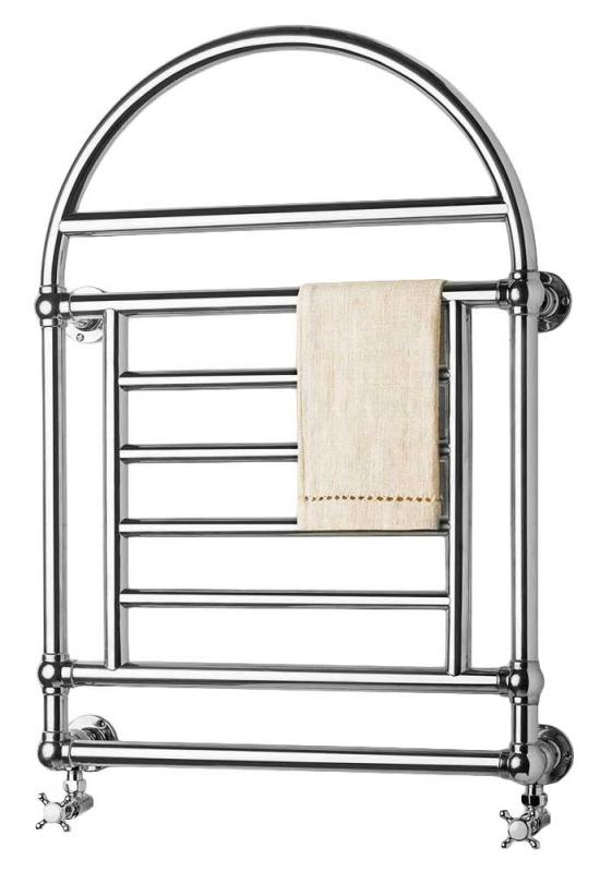 Towel Radiator - Crosby chrome,  water connection