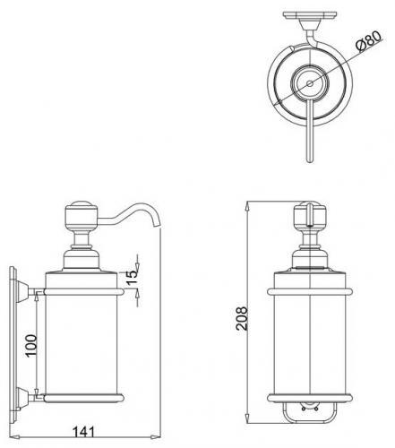 Soap Dispenser - Burlington