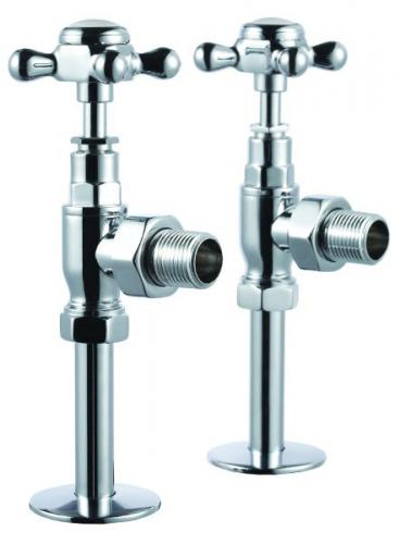 Burlington - Angled Radiator Valves (pair)