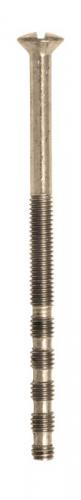 M4 Machine screw, slotted 65 mm - Nickel