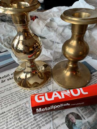 Brass Polishing - Glanol metal polishing 100 ml