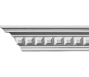 Taklist - CN-3005 - sekelskiftesstil - gammaldags inredning - klassisk inredning