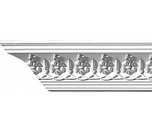 Cornice molding - CN3036 - classic style - vintage interior - oldschool style