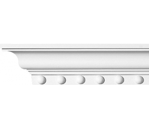 Cornice molding - CN3100 - old classic style - vintage - retro