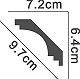 Cornice molding - PCN2045