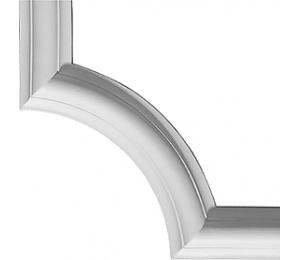 Trim list corner - PCR6003/2 - old fashioned style - classic interior - oldschool