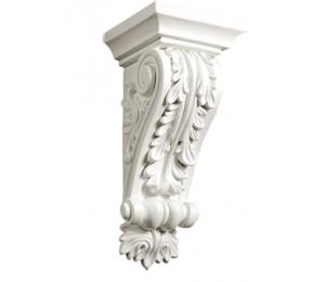 Dekorelement - Konsol CB-8018 - gammaldags inredning - retro - gammal stil