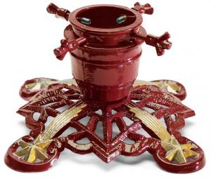 Christmas Tree Stand - Sekelskifte red/gold