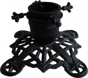 Julgransfot - Sekelskifte svart - sekelskiftesstil - retro - gammaldags stil