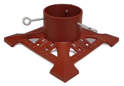 Christmas tree stand - Cast iron red