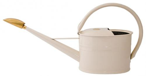 Watering can - Cream oval 5 L
