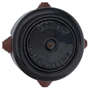 Connection box - Black porcelain 116 mm