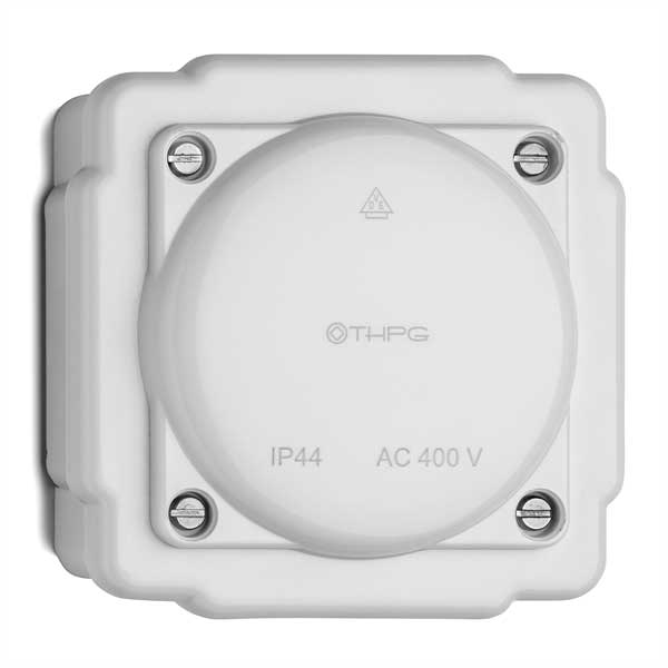 Connection box - White bakelite IP44