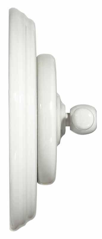 Old style rotary switch - White porcelain white knob