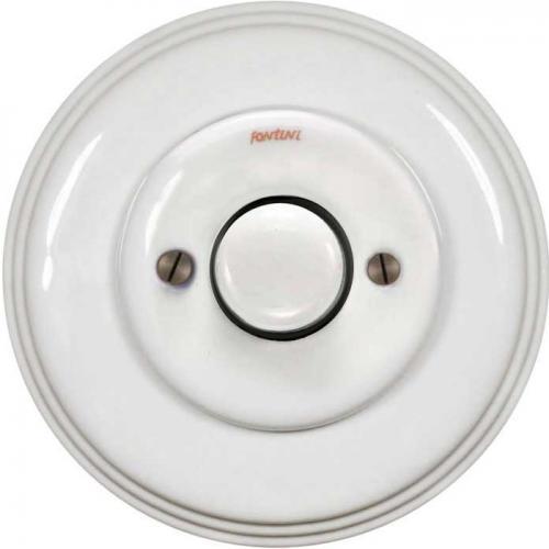 Dimmer Fontini - Vit porslin LED 4-100W universal