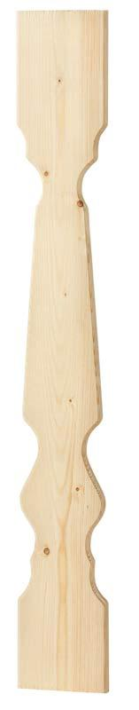 Wood Fence Picket 85 x 11,5 - Classic style