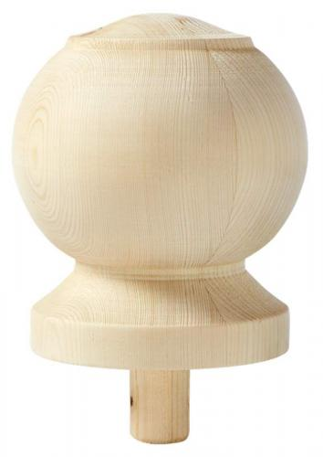 Newel post top ball - 125 mm - old fashioned - old style - vintage interior - retro - classic interior