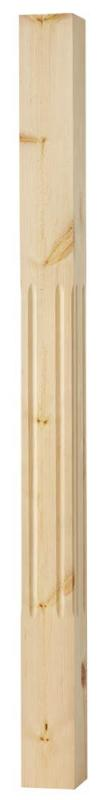 Stair baluster - 1180 x 85 mm pinewood