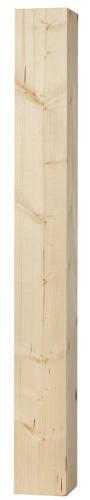 Stolpe - Rak pelare 130 x 130 x 1180 mm gran