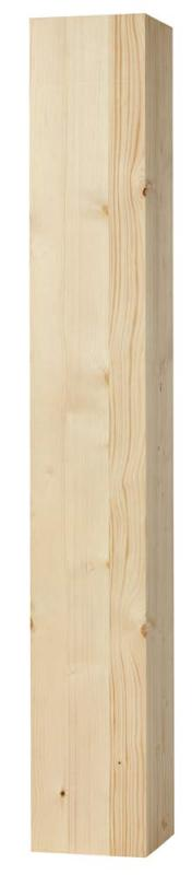 Wood post - Square pillar 170 x 170 x 1180 mm fir