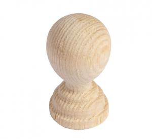 Träknopp - Svarvad 20 mm