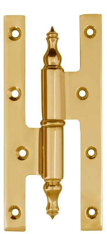 Bar Hinge - Brass 160 x 75 mm