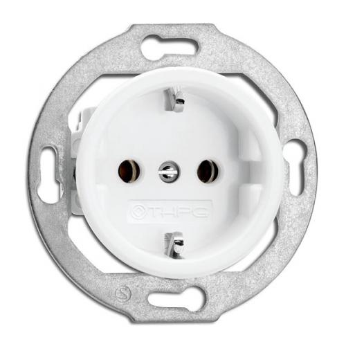 Socket Outlet  - Single porcelain
