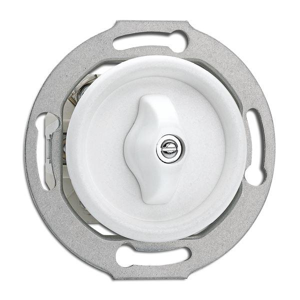 Strömbrytare insats - Vridströmbrytare (trapp) duroplast